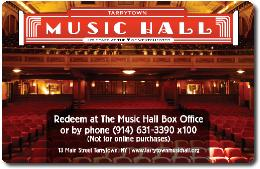 Music Hall Gift Certificate