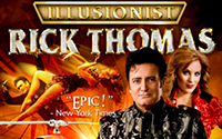 Illusionist Rick Thomas (4/25/21)
